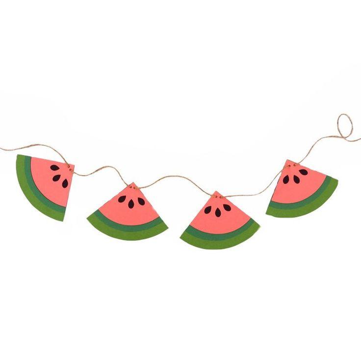 Watermelon clipart banner. Rts decoration