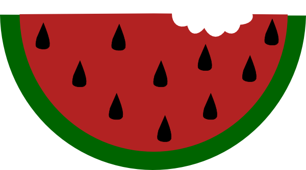 Watermelon clipart bite. With clip art at