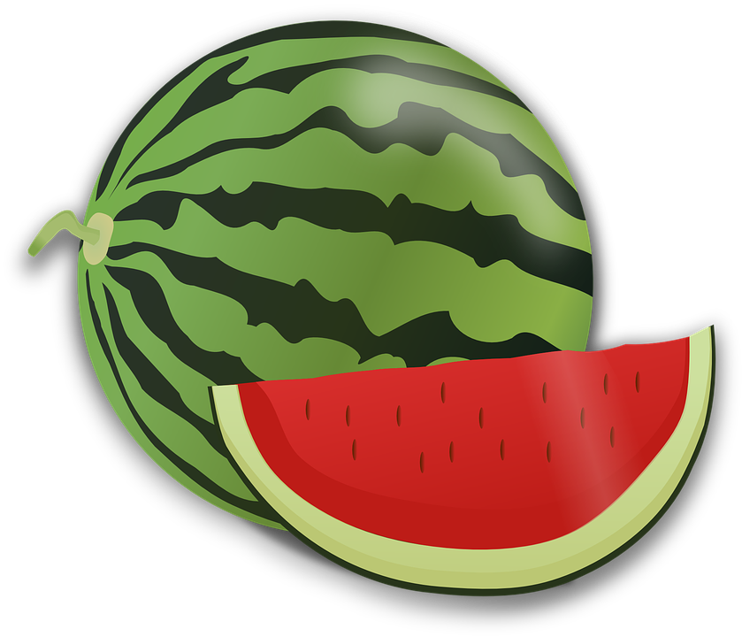 Watermelon clipart black and white. Cliparts shop of library