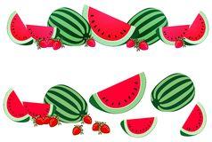 Watermelon clipart border. Free cliparts download clip