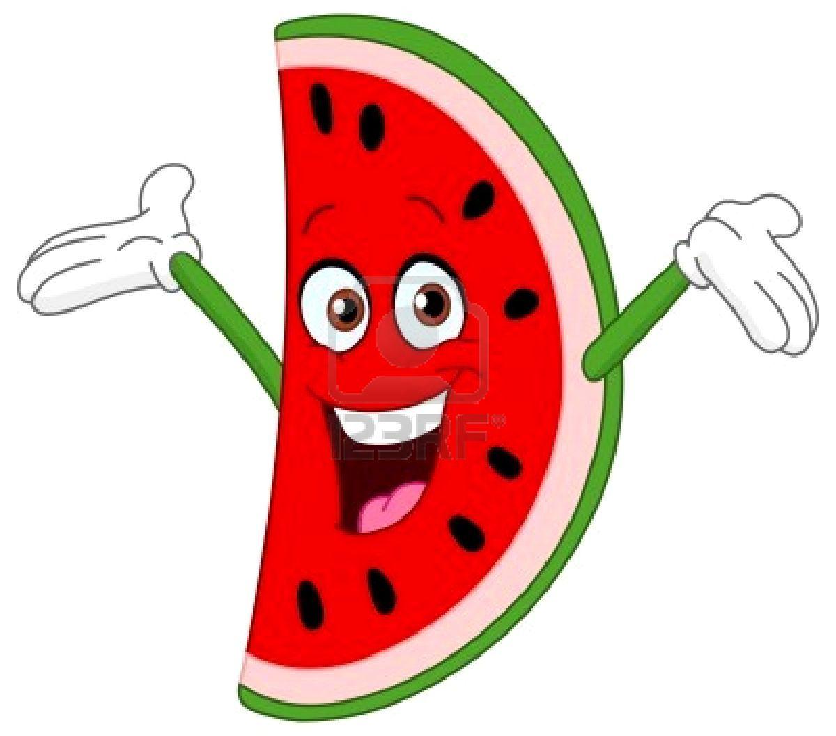 Watermelon clipart carton. Stock vector anything cartoon