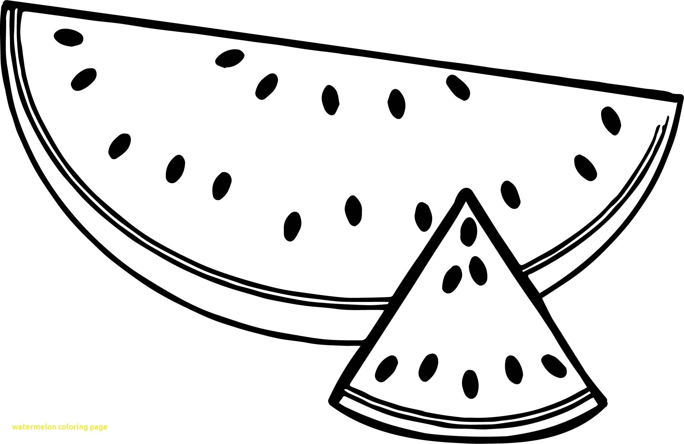 Watermelon clipart colour. Awesome watermelons coloring pages