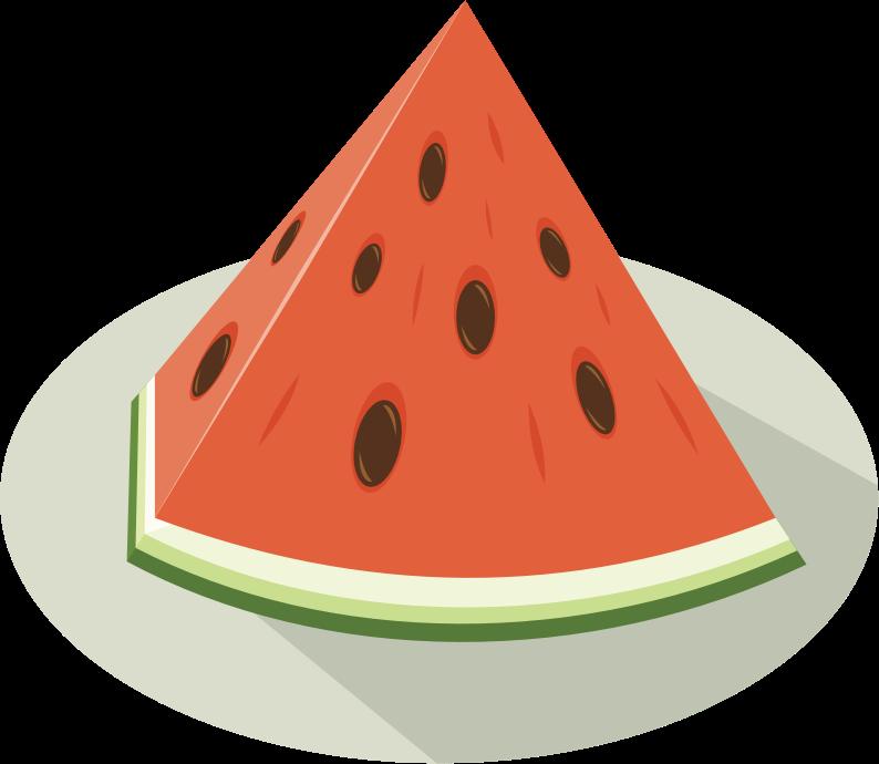 Watermelon clipart cucumber melon. Slice medium image png