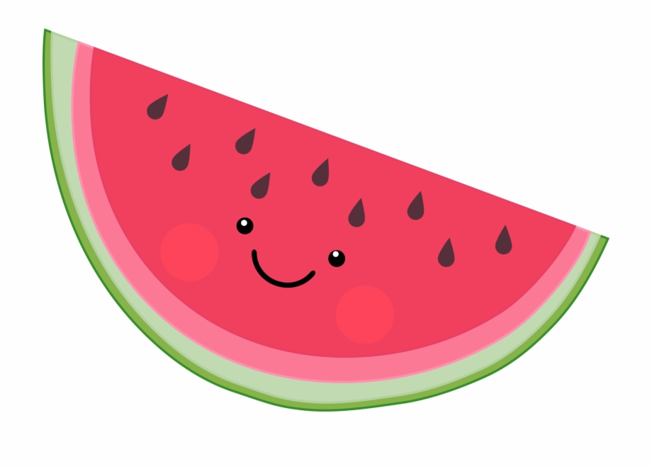 Cute transparent png download. Watermelon clipart cut