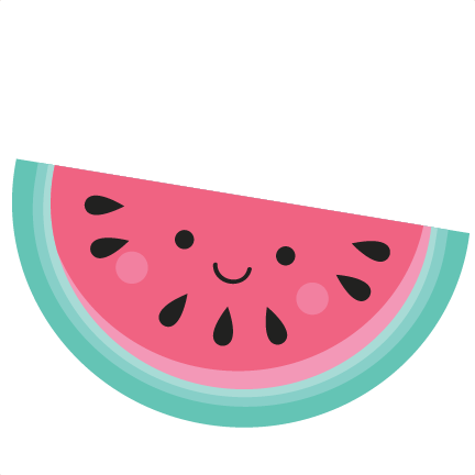 Watermelon clipart cut. Happy svg scrapbook file