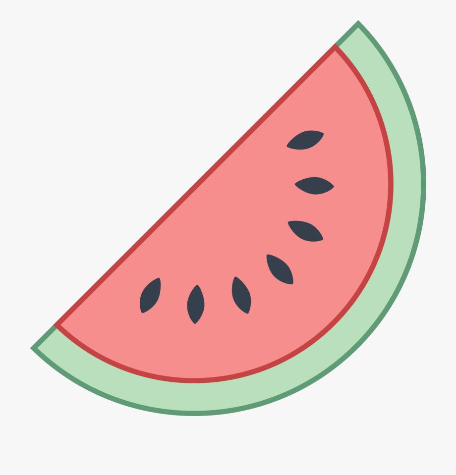 Kawaii food cute drawings. Watermelon clipart easy