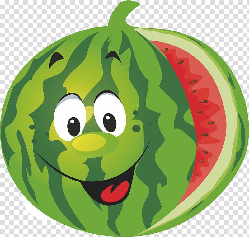 Cartoon transparent background png. Watermelon clipart eye