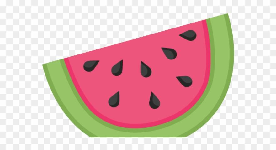 Watermelon clipart eye. Melon plant half clip