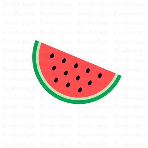 Svg summer cricut cutting. Watermelon clipart file
