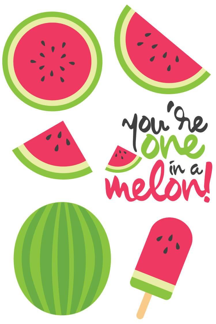 Watermelon clipart file. Cut files clip art