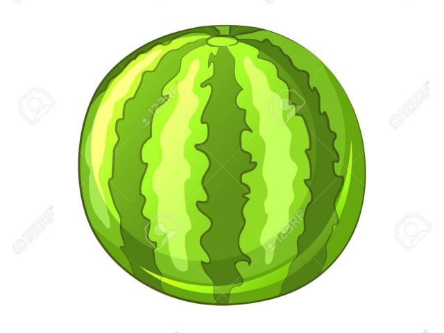 Free download clip art. Watermelon clipart green object
