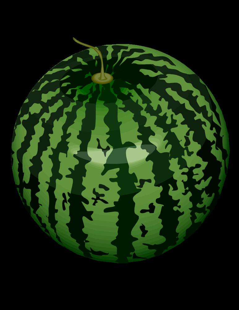 Watermelon clipart green watermelon. Onlinelabels clip art
