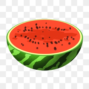 Png vector psd and. Watermelon clipart half watermelon