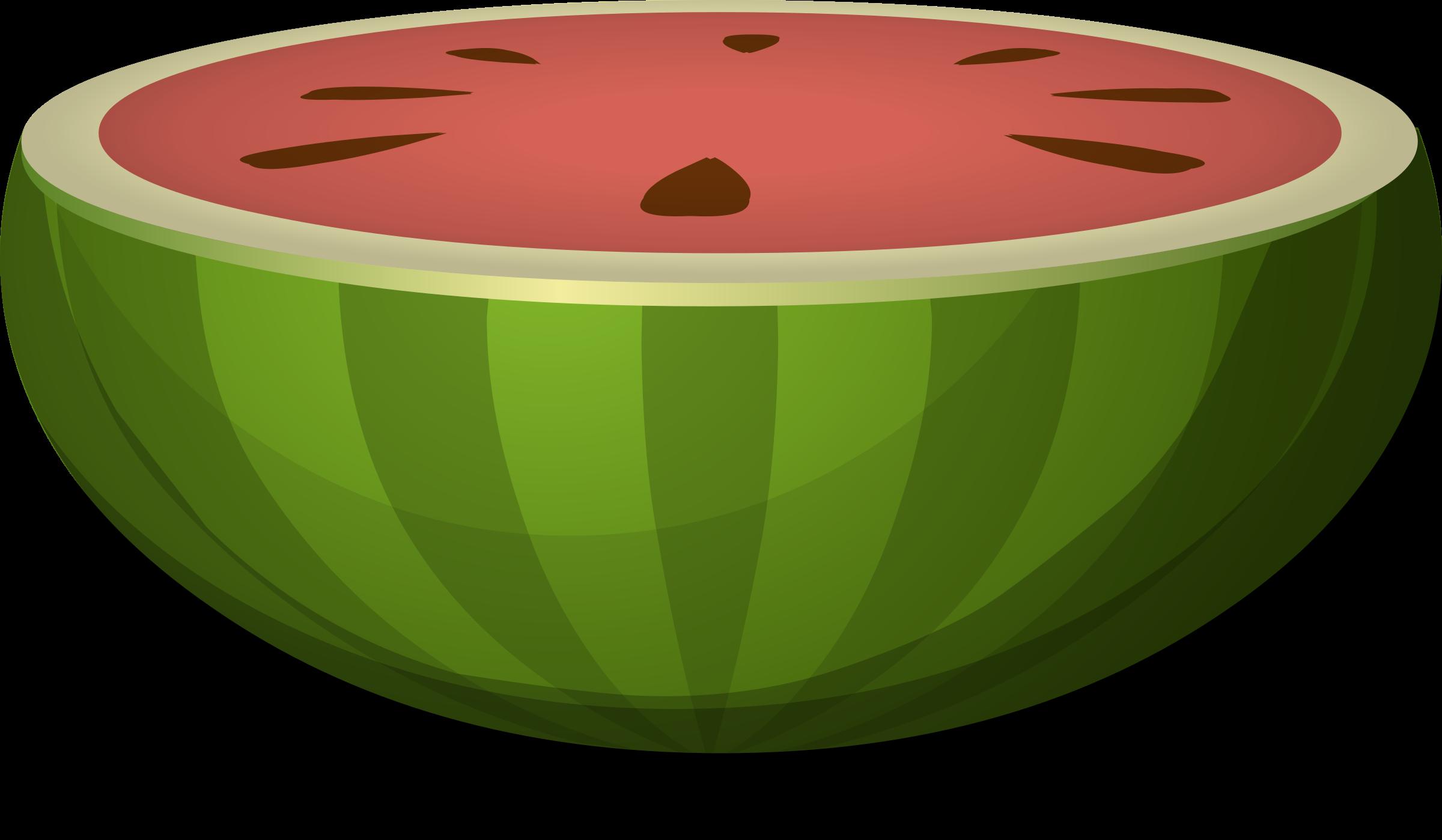 Big image png. Watermelon clipart half watermelon