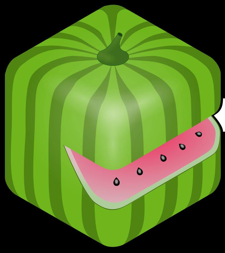 Watermelon clipart leaf. Hungry melon maintenance studio