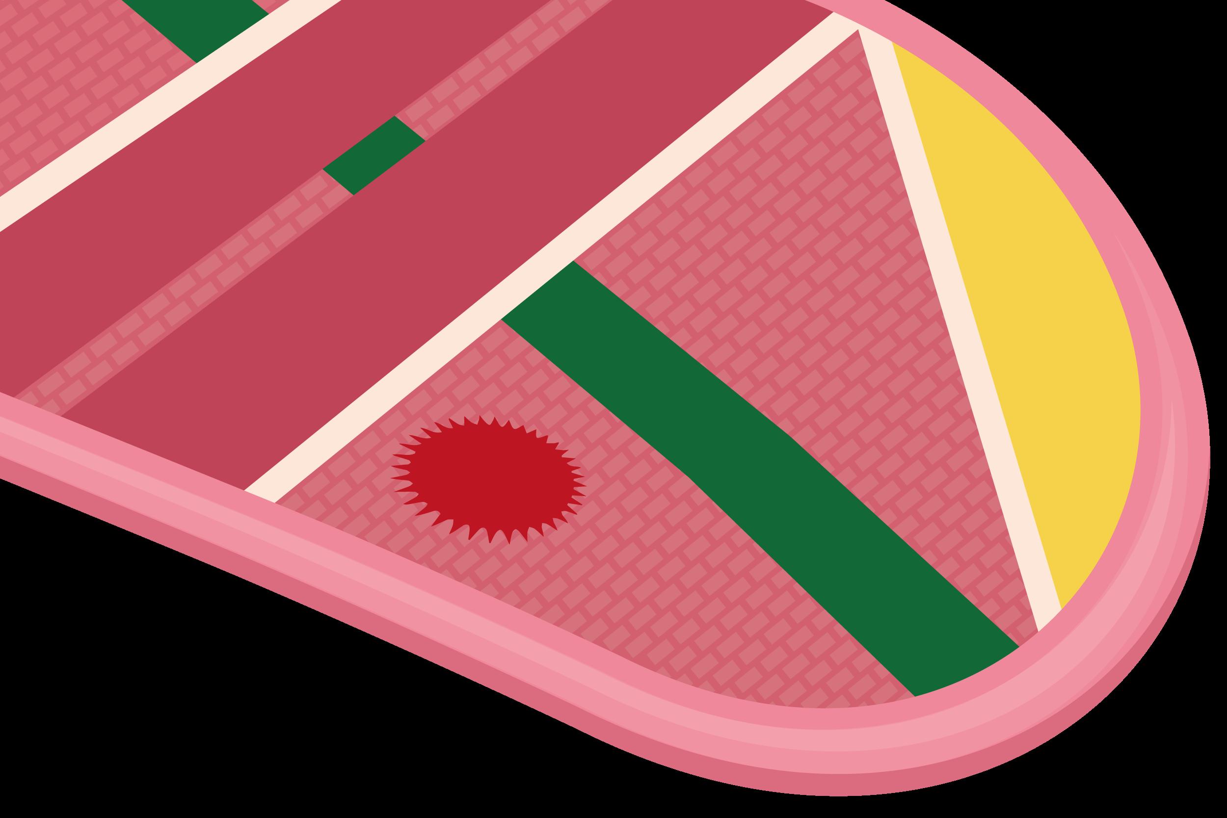 Back to the future. Watermelon clipart minimal