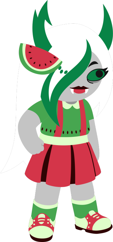 Watermelon clipart minimal. Theme tumblr tysm so