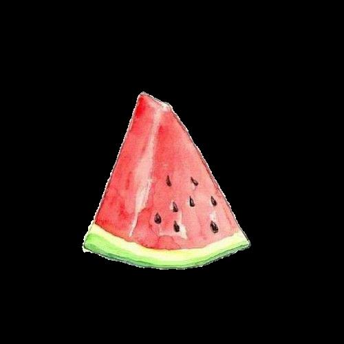 Watermelon clipart overlays tumblr. Overlay