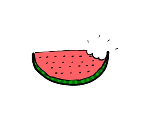 Watermelon clipart overlays tumblr.  images about on