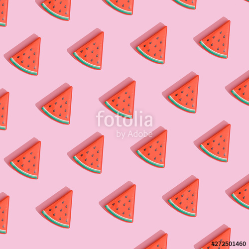 Watermelon clipart pastel. Creative composition made with
