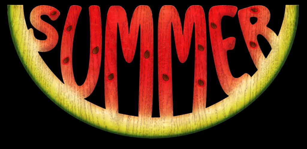 Watermelon clipart patch. Summer days pinterest