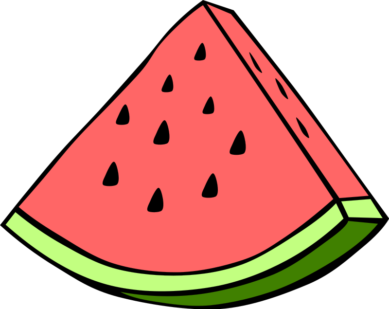 Watermelon clipart picnic. My favorite things summer