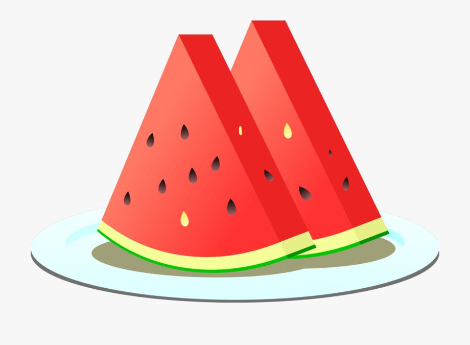 Fruit egusi cucumber sliced. Watermelon clipart piece
