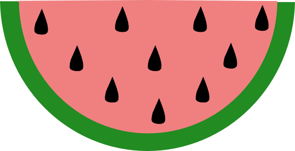 Watermelon clipart piece. Collection of slice free