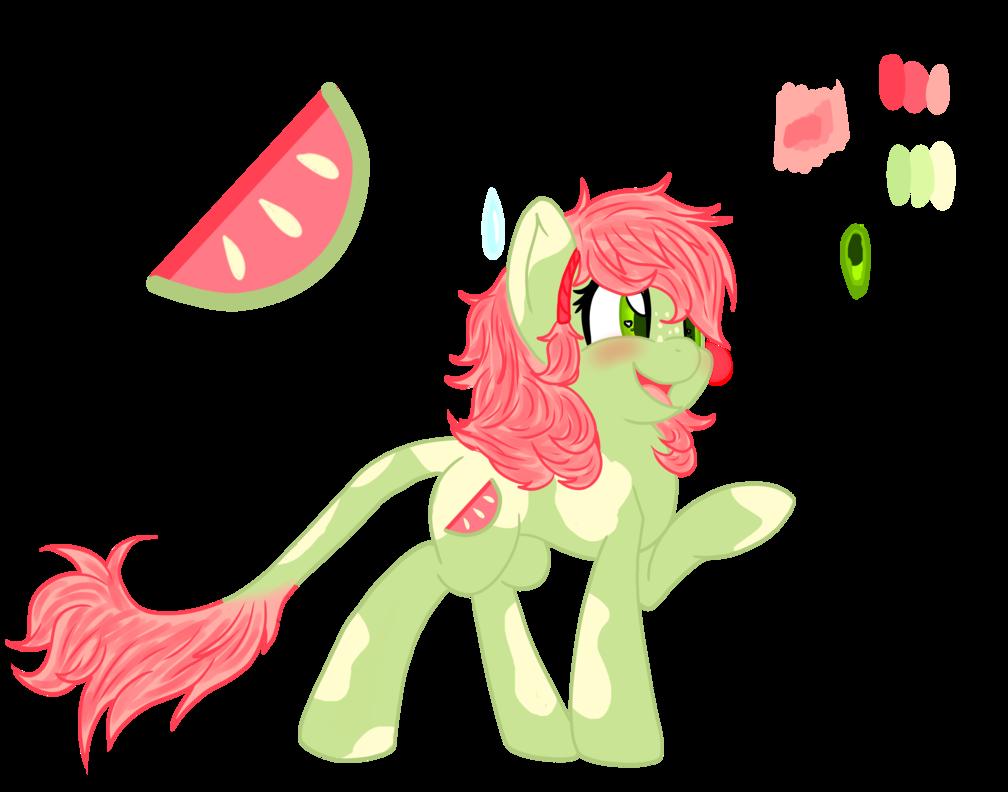 Watermelon clipart pip. Melon spritz by mamafoxi