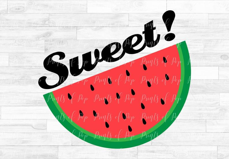 Svg sweet clip art. Watermelon clipart pip
