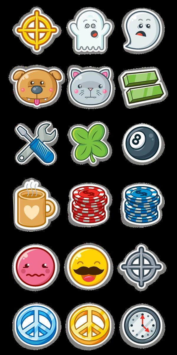 Sega achievement stickers printbench. Watermelon clipart pop art