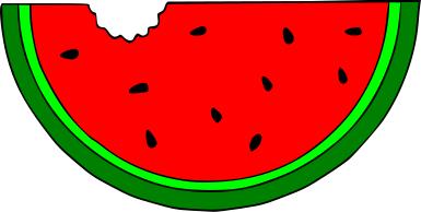 Slice free download best. Watermelon clipart red watermelon