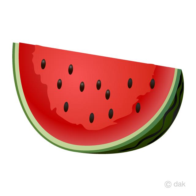Watermelon clipart red watermelon. Cut free picture illustoon