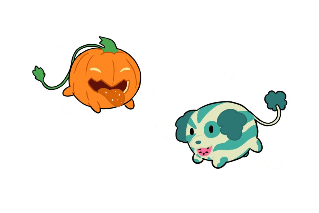 Watermelon clipart shake. Pumpkin and dog by