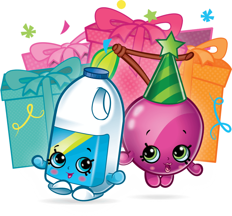 Birthday cake party clip. Watermelon clipart shopkins