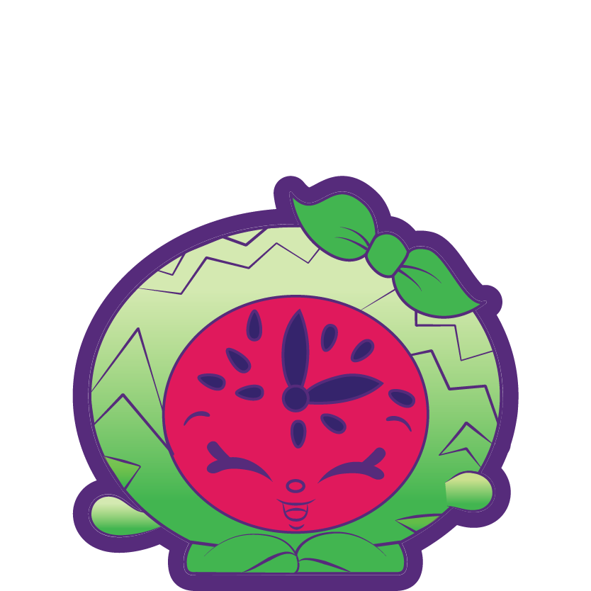 Melon minutes wiki fandom. Watermelon clipart shopkins