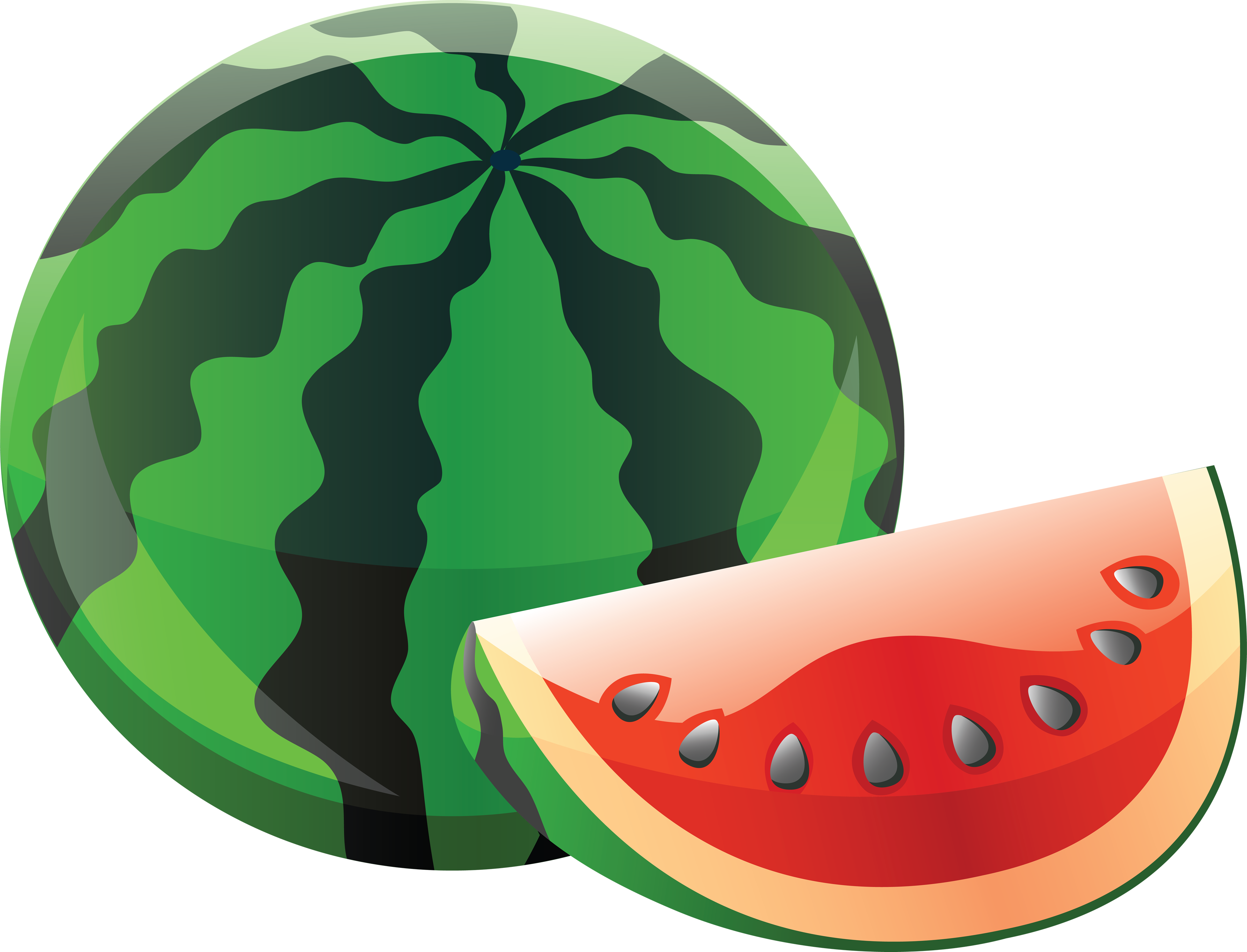 Pin by hopeless on. Watermelon clipart skin