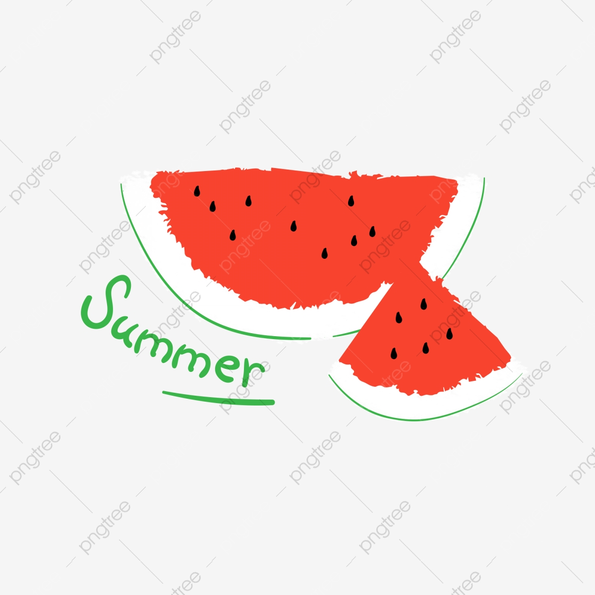 Watermelon clipart skin. Summer hot seed
