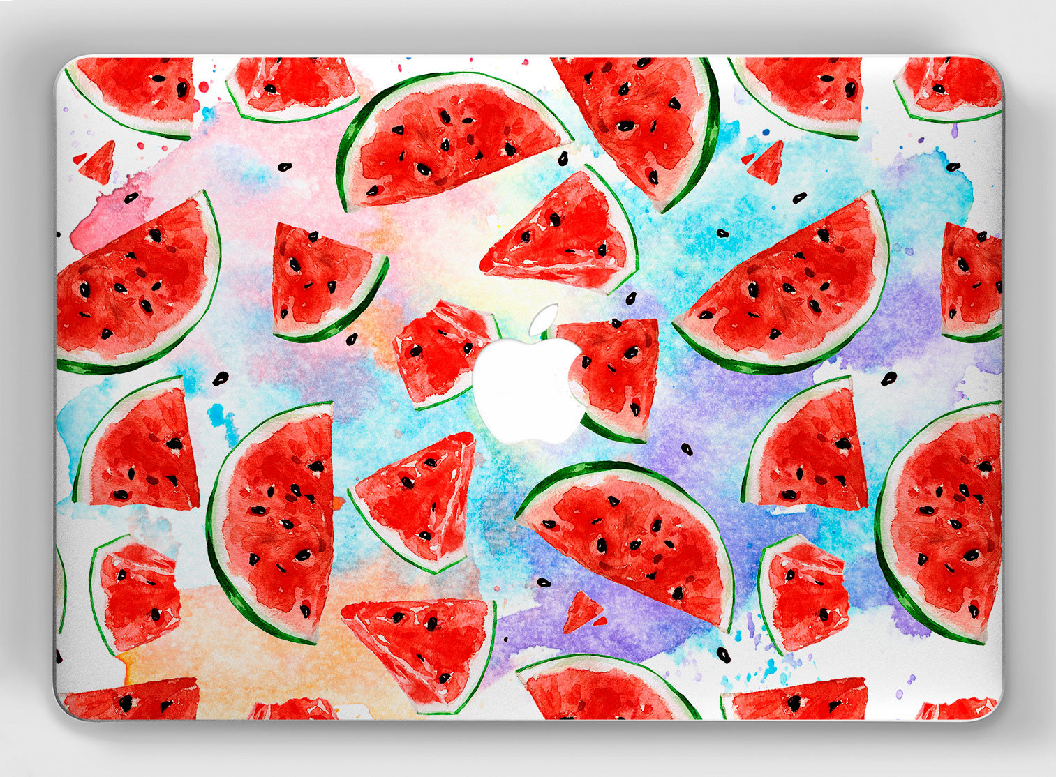 Macbook pro mac inch. Watermelon clipart skin