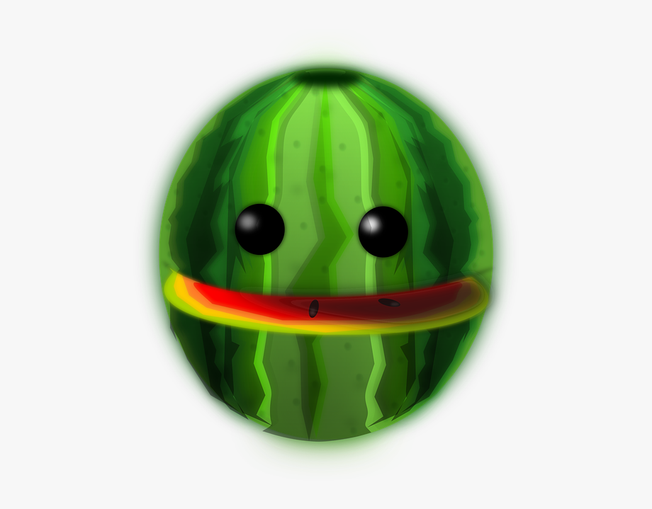 Watermelon clipart smile. Smiling