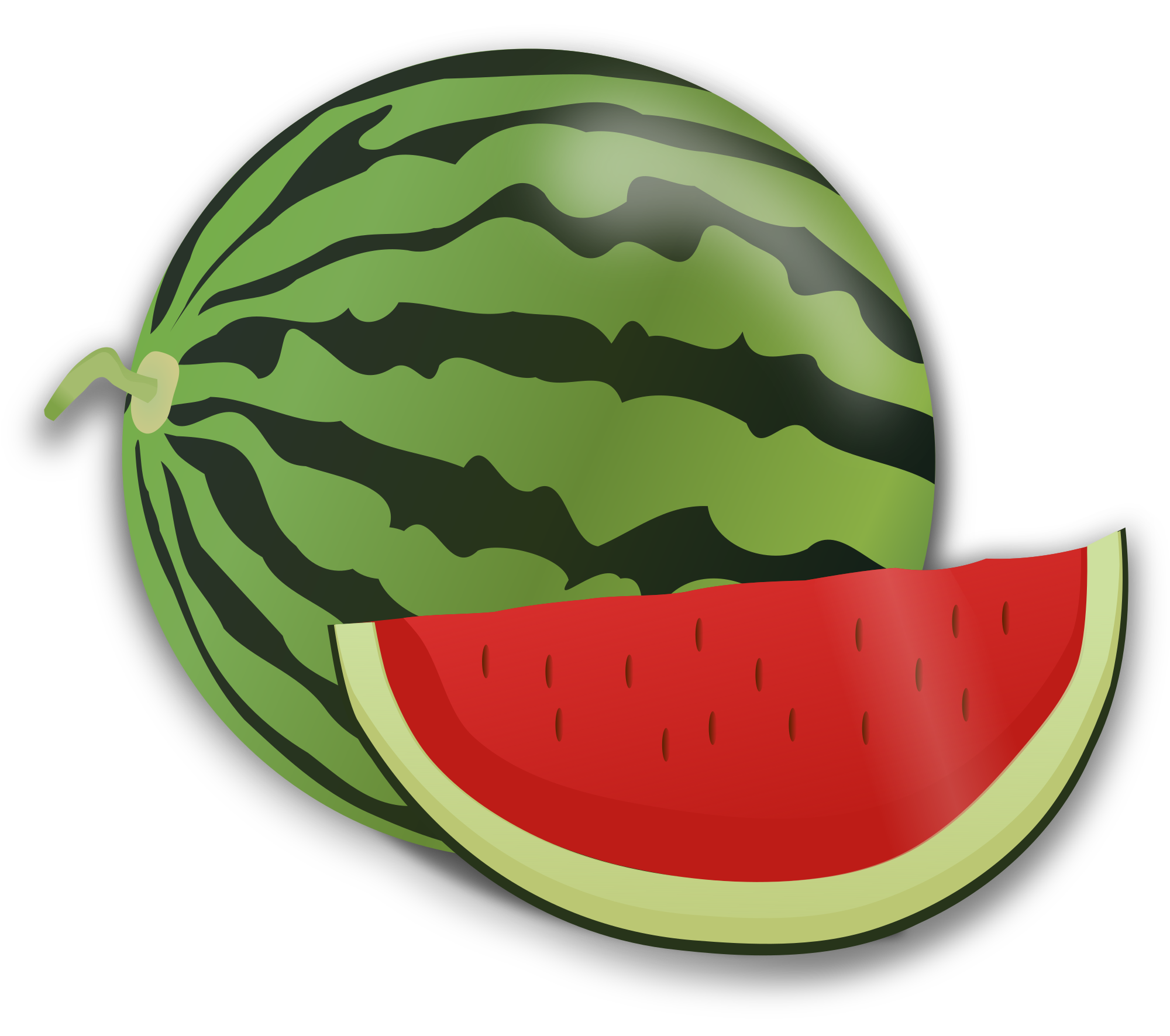 Watermelon clipart svg. File openclipart wikimedia commons