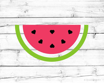 Watermelon clipart svg. Etsy