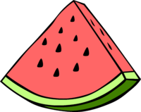 Related keywords suggestions for. Watermelon clipart tembikai