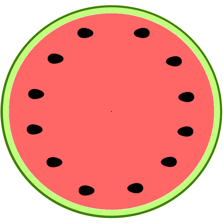 Watermelon clipart template. Free image download clip