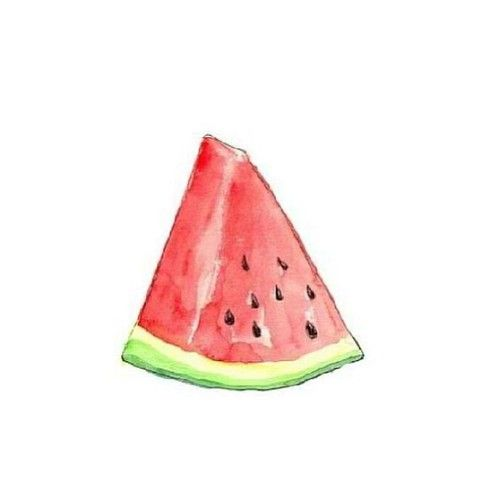 Transparents . Watermelon clipart transparent tumblr