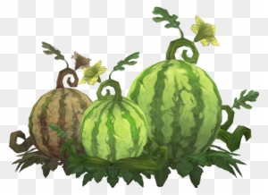 Cliparts making the web. Watermelon clipart tree