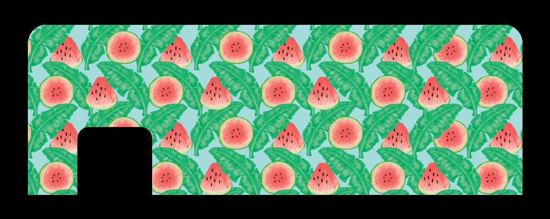 Sandias cucu covers . Watermelon clipart tropical