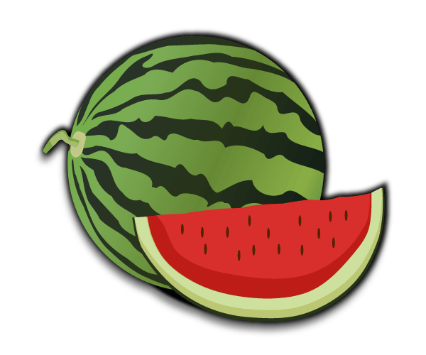 Free clip art food. Watermelon clipart vector