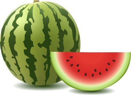 Free watermelons and graphics. Watermelon clipart vector