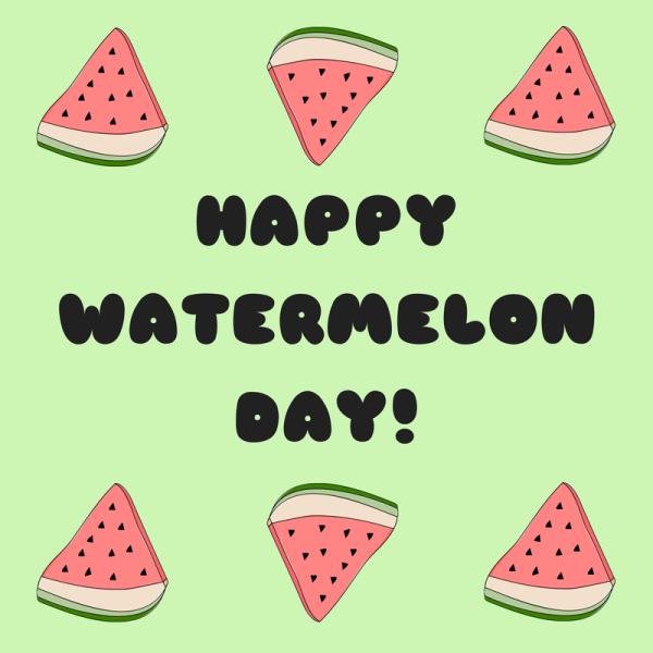 Watermelon clipart watermelon day. Happy handmade healthy
